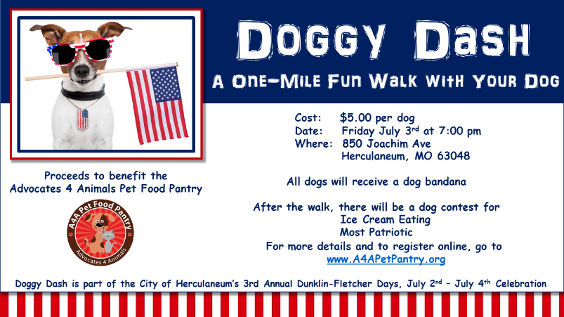 Doggy Dash flyer